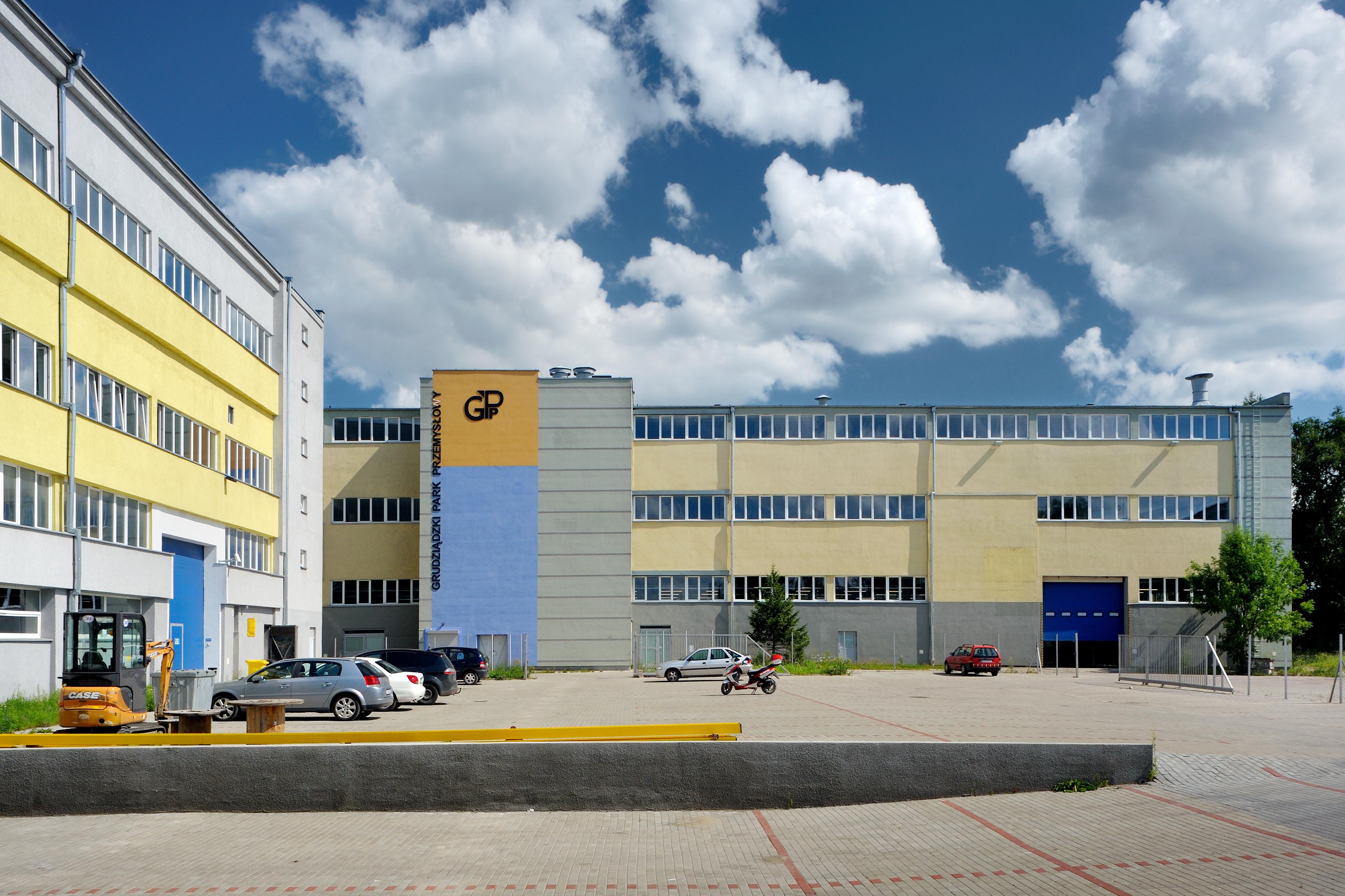 Hale GPP, Grudziądzki Park Przemysłowy, PSSE, strefa ekonomiczna, Grudziądz